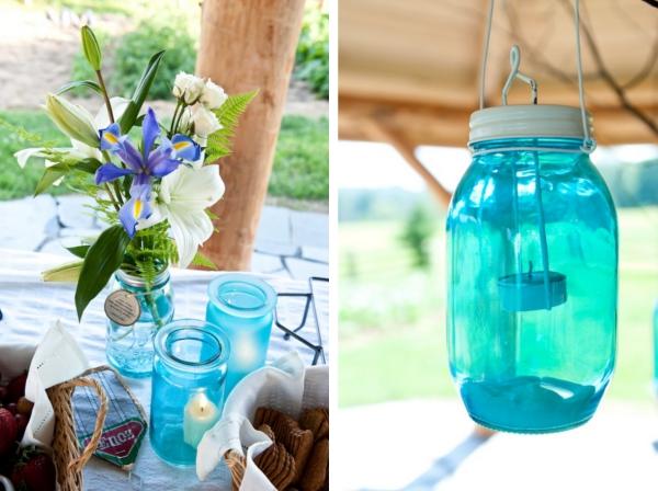 Verrueckt nach Hochzeit, Dekoration, Tischdeko, Marmeladengläser