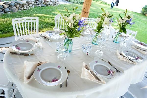 Verrueckt nach Hochzeit, Hochzeitsessen, Tischdekoration