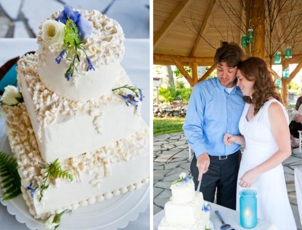 Verrueckt nach Hochzeit, Hochzeitstorte
