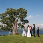 Kim & Oliver – eine deutsch-amerikanische Hochzeit am See