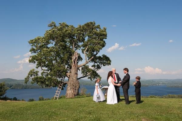 Hochzeit, Trauung unter freiem Himmel, Verrückt nach Hochzeit
