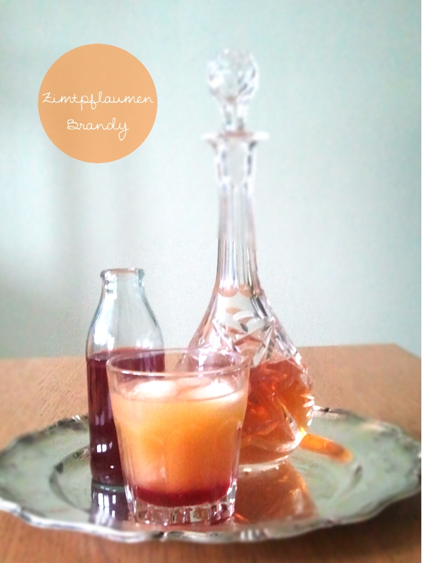 Cinnemon Plum Brandy, Signature Drink, Begrüßungs Cocktail