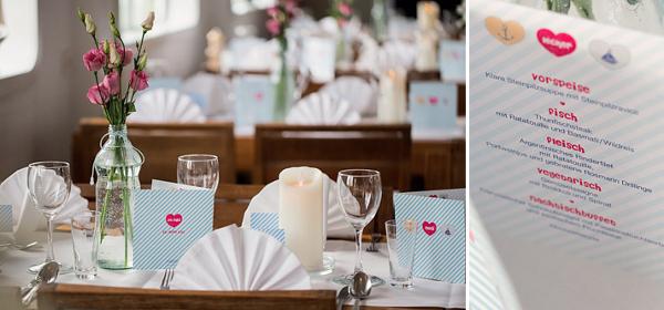 Hochzeit, Tischdekoration, Düsseldorf, Verrückt nach Hochzeit