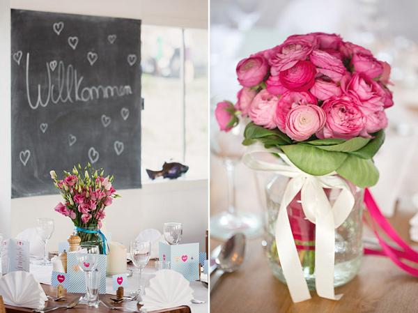 Hochzeit, Dekoration, Brautstrauß, Verrückt nach Hochzeit