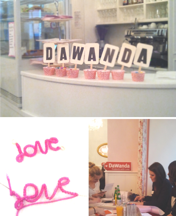 Dawanda Blogger Cafe