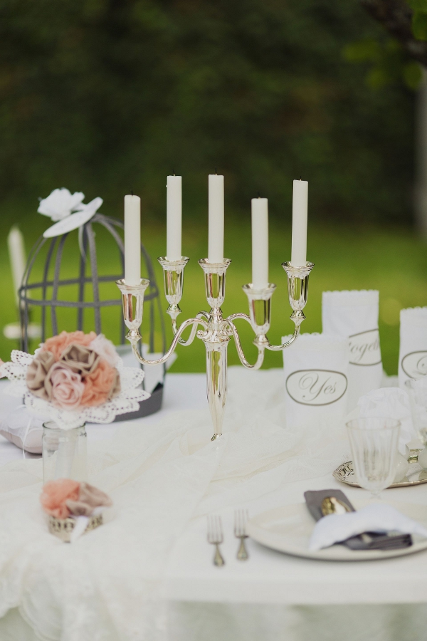 Verrückt nach Hochzeit, Fingerhut, Daniela Reske, Hochzeitstisch