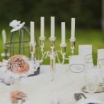 Hochzeitsdekorationen aus dem Fingerhut