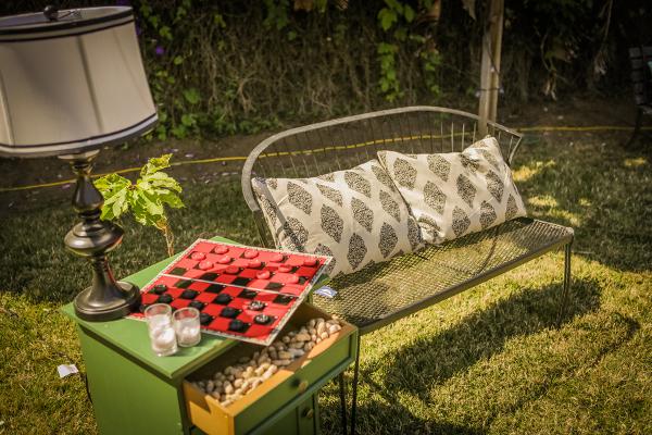 Hochzeit, Feier, Vintage, DIY, Garten