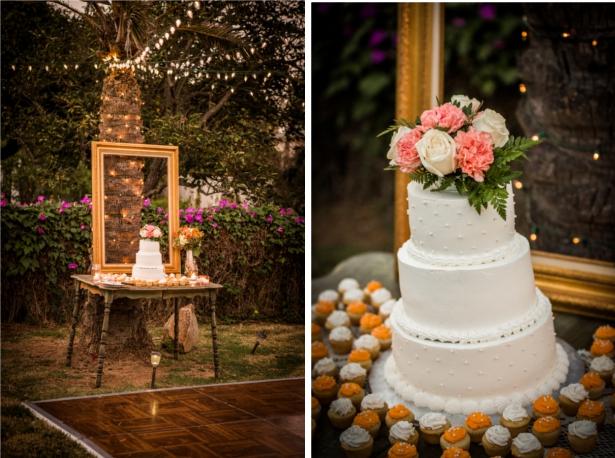 Hochzeit, Hochzeitstorte, Cupcakes