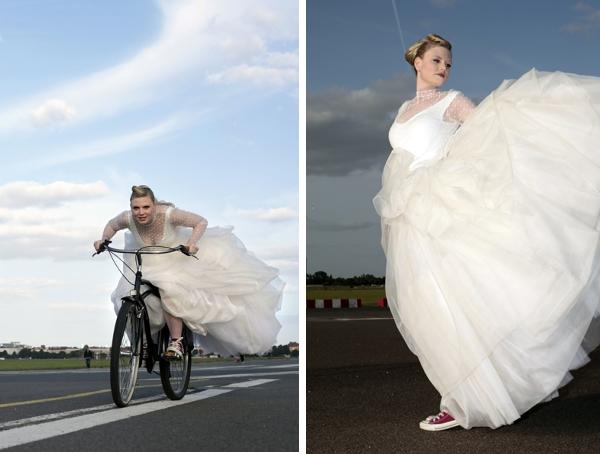 Anne Wolf vereint Eleganz mit der Individualität der Braut.