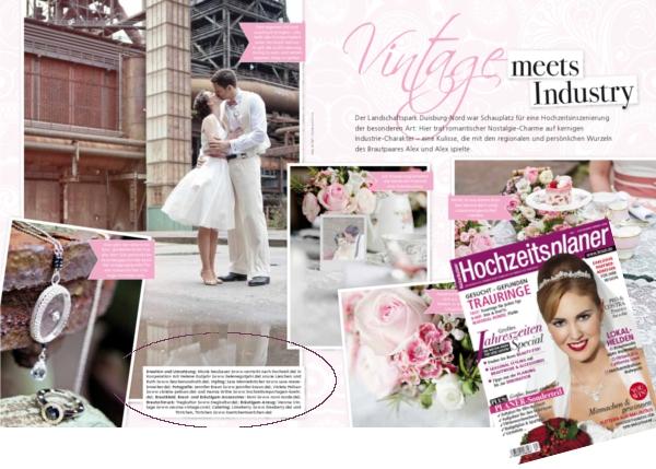 Hochzeitsplaner, Vintage meets Industry