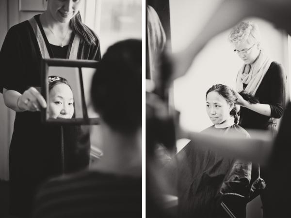 Braut, Hochzeit, Island, Getting ready