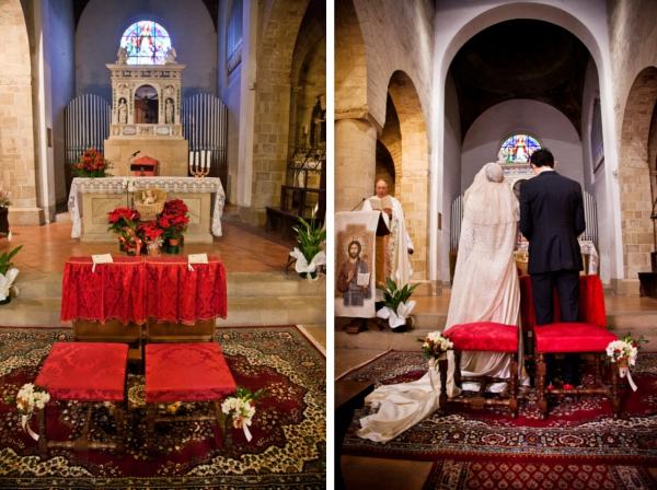 Hochzeit, Winterhochzeit, Toskana, Trauung