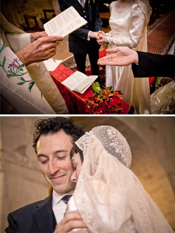 Hochzeit, italienische Hochzeit, Ringtausch, Winterhochzeit, Trauung