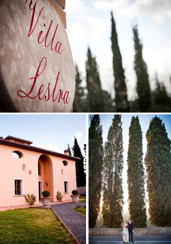 Gefeiert wird in der als Ferienhaus zu mietenden Villa Lestra.