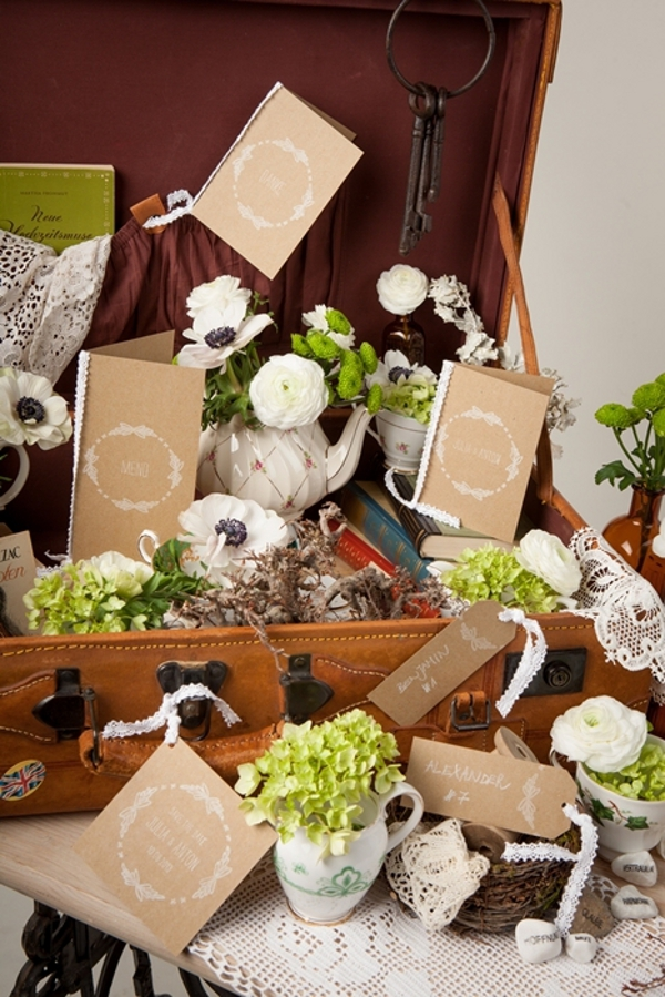 Natürliche Papeterie-Serie für Hochzeiten von Das Papierlabor für Lieschen und Ruth