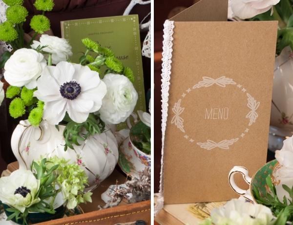 Natürliche Hochzeits-Papeterie von Das Papierlabor für Lieschen und Ruth