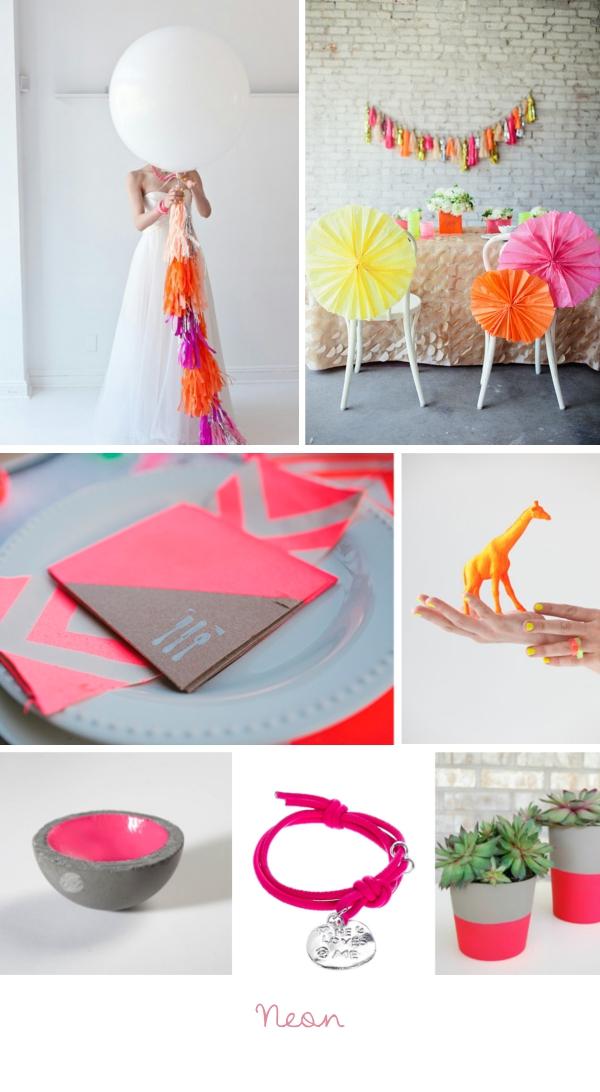 Hochzeitstrends 2013 Neon