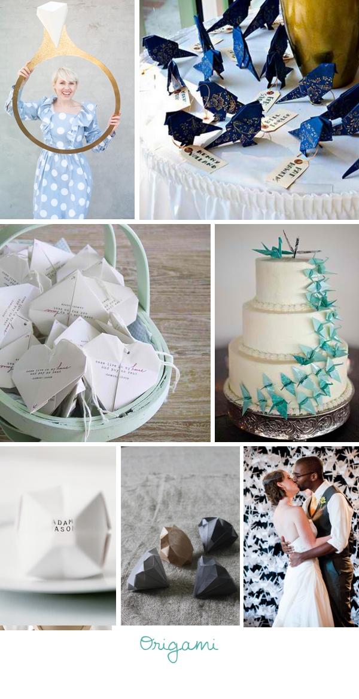 Ideen für die Hochzeit 2013 Origami