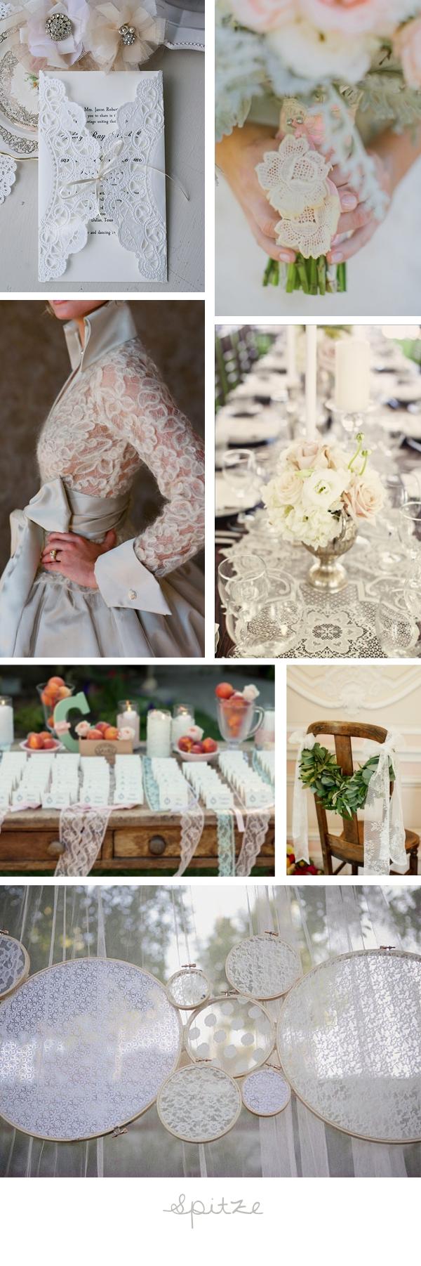 Hochzeitstrend 2013: Spitze