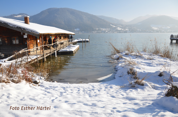 Making of Winter Shooting am Tegernsee