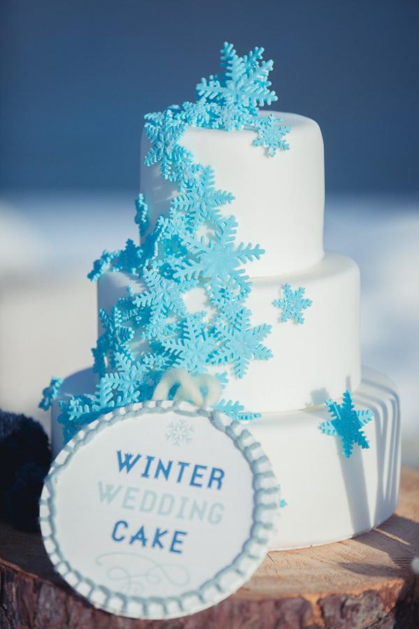Inspiration für Winterhochzeit am Starnberger See, Hochzeit, Hochzeitstorte, Torte
