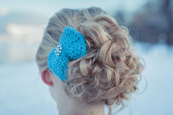 Inspiration für Winterhochzeit am Starnberger See, Hochzeit, Haarschmuck