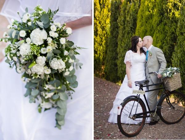 Brautstrauß einer DIY Hochzeit in Südafrika by iz-photography