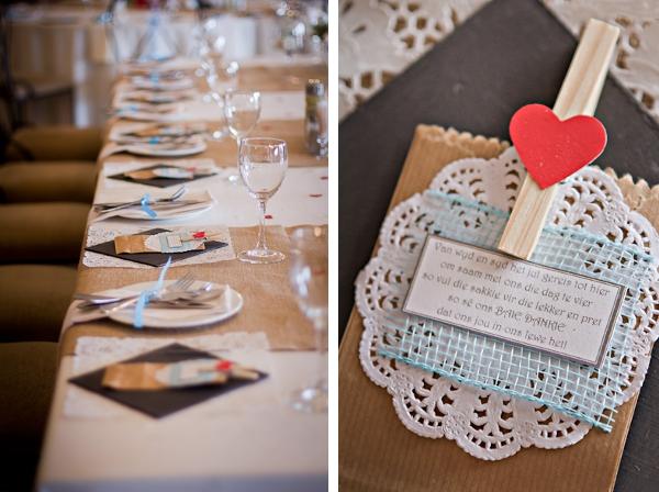 Gastgeschenke einer DIY Hochzeit in Südafrika by iz-photography