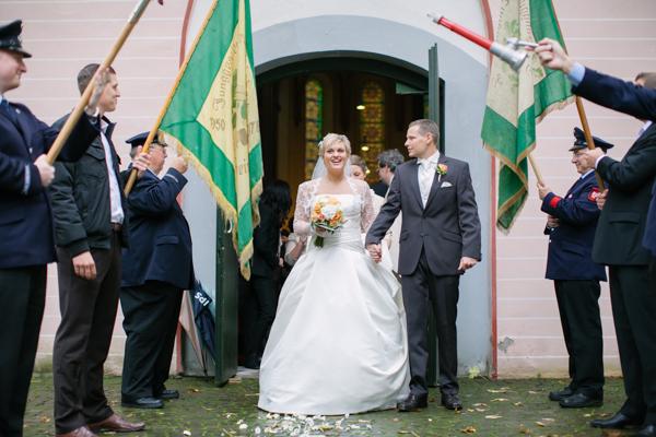 Empfang nach der Trauung, Maritime Hochzeit gestaltet von Irina Thiessen und Katharina Sparwasser