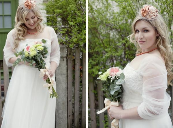 Braut in Übergröße