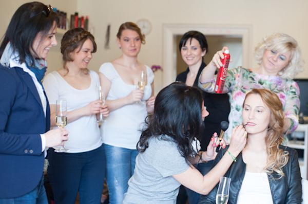 Wellnesstag mit professioneller Unterstützung von Stylistin und Makeup-Artist