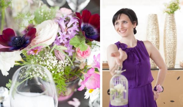 Wellnesstag mit Trauzeuginnen und  Blumenschmuck