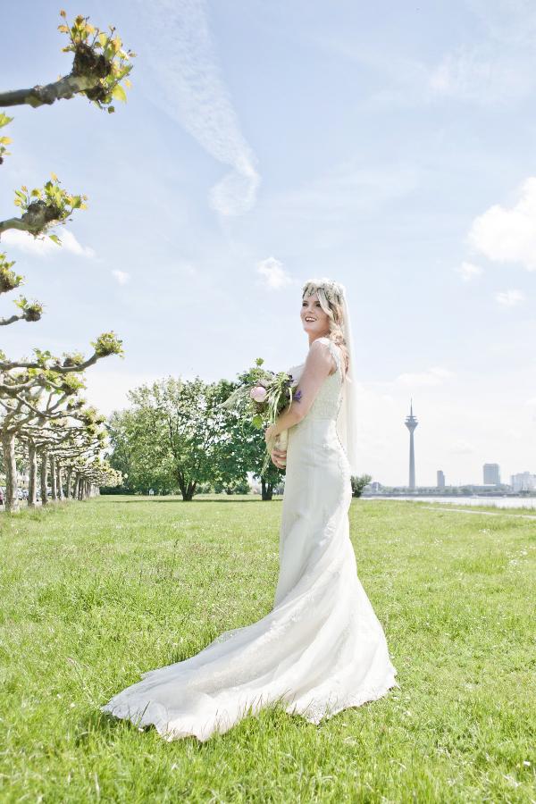 Frieda + Steve Hochzeit in Duesseldorf