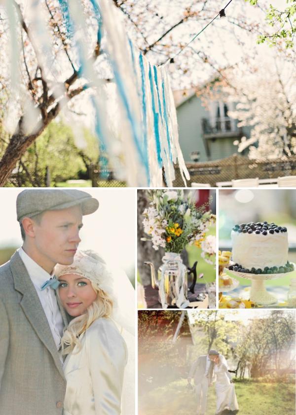 Schwedische Sommer Hochzeit Inspiration von 2 Brides Photography
