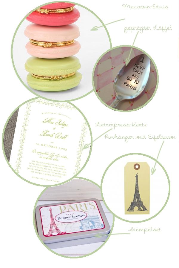 Verrückt nach Paris - 5 Produkte für eine schöne Hochzeit