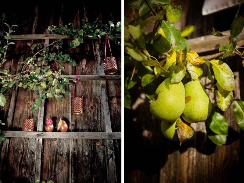 kupferne Herbsteszeit - ein Inspirations Shooting für die Herbsthochzeit auf dem Lande