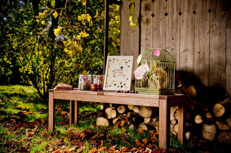 kupferne Herbsteszeit - ein Inspirations Shooting für die #Herbsthochzeit auf dem Land