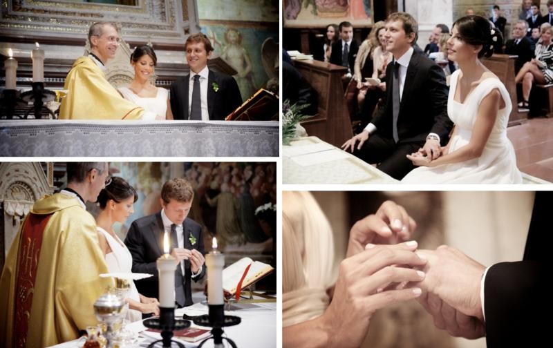 Verrückt nach Hochzeit: Hochzeit  in Italien: Trauung (Foto: Rossini Photography)