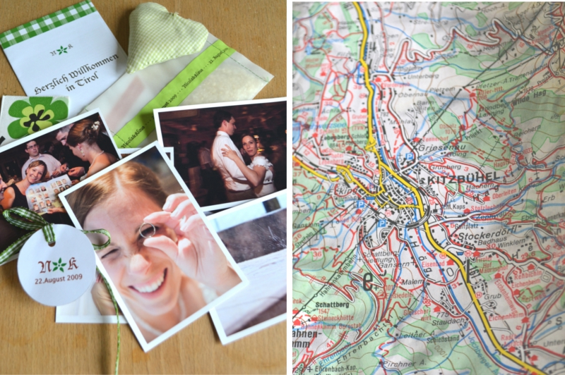 Verrueckt nach Hochzeit_DIY Erinnerungsbuch aus Landkarten 1a