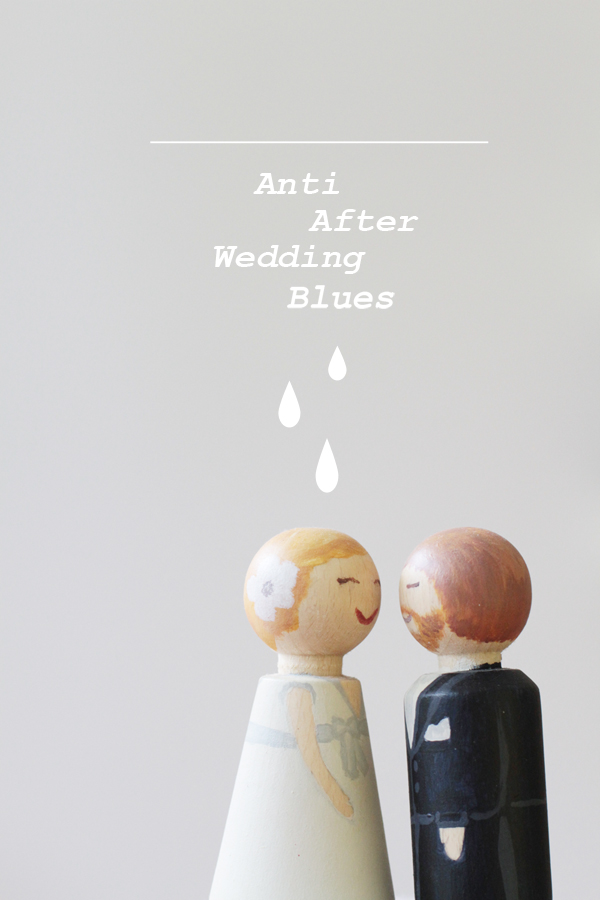 Verrückt nach Hochzeit bei Stylehäppchen: Das 5-Punkte-Programm gegen After-Wedding-Blues