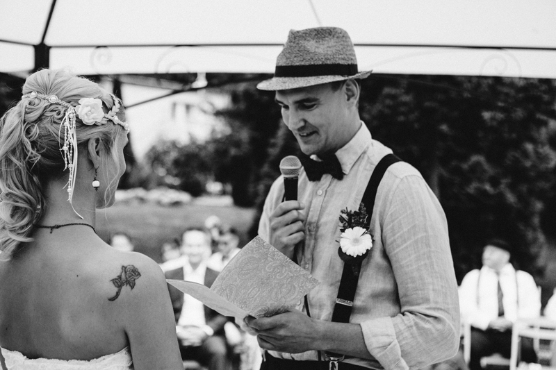 Trauung: Hochzeit auf Schloss Wulkow von Frau Glück und Herr Lich