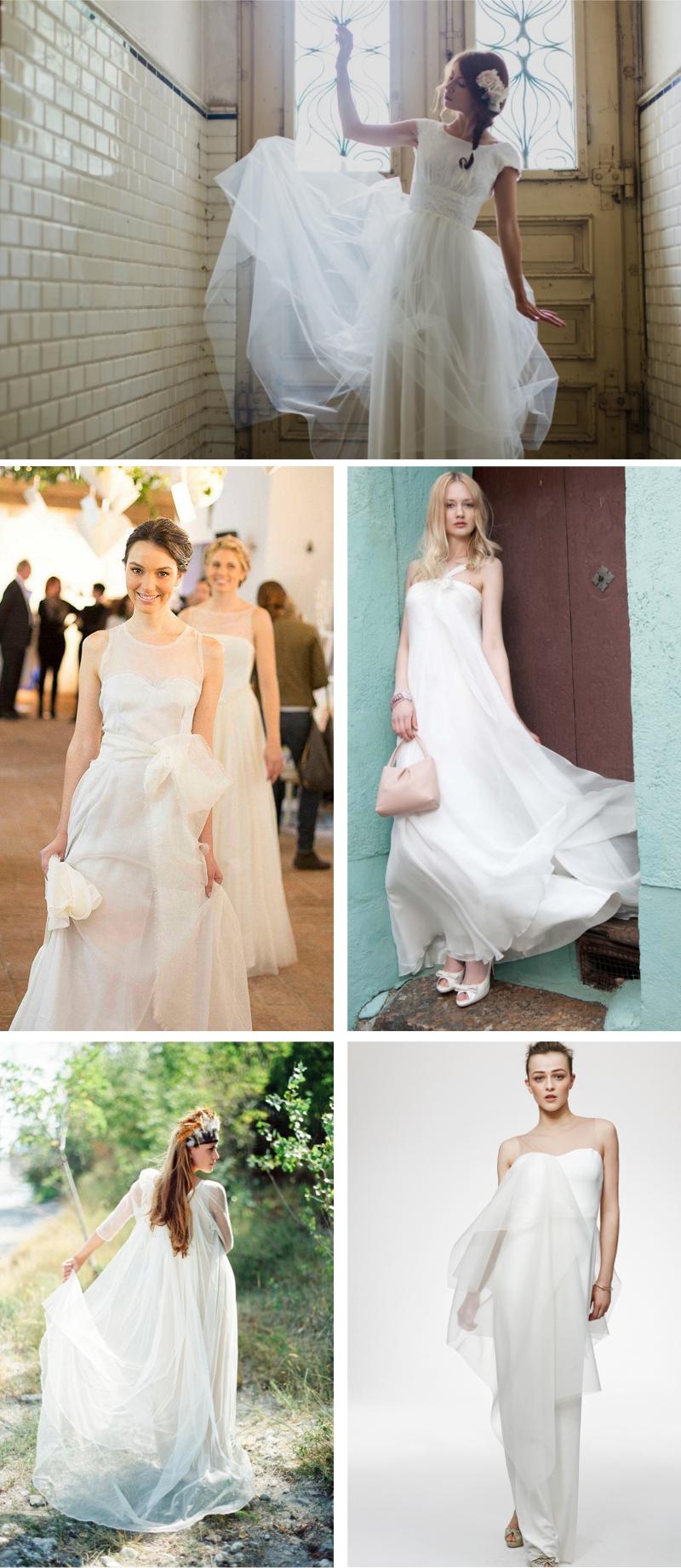 Brautkleid-Trends 2014 - Teil 3: Transparenzen