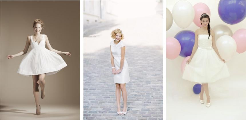 Brautmode-Trends 2014 - Teil 6: kurze Hochzeitskleider