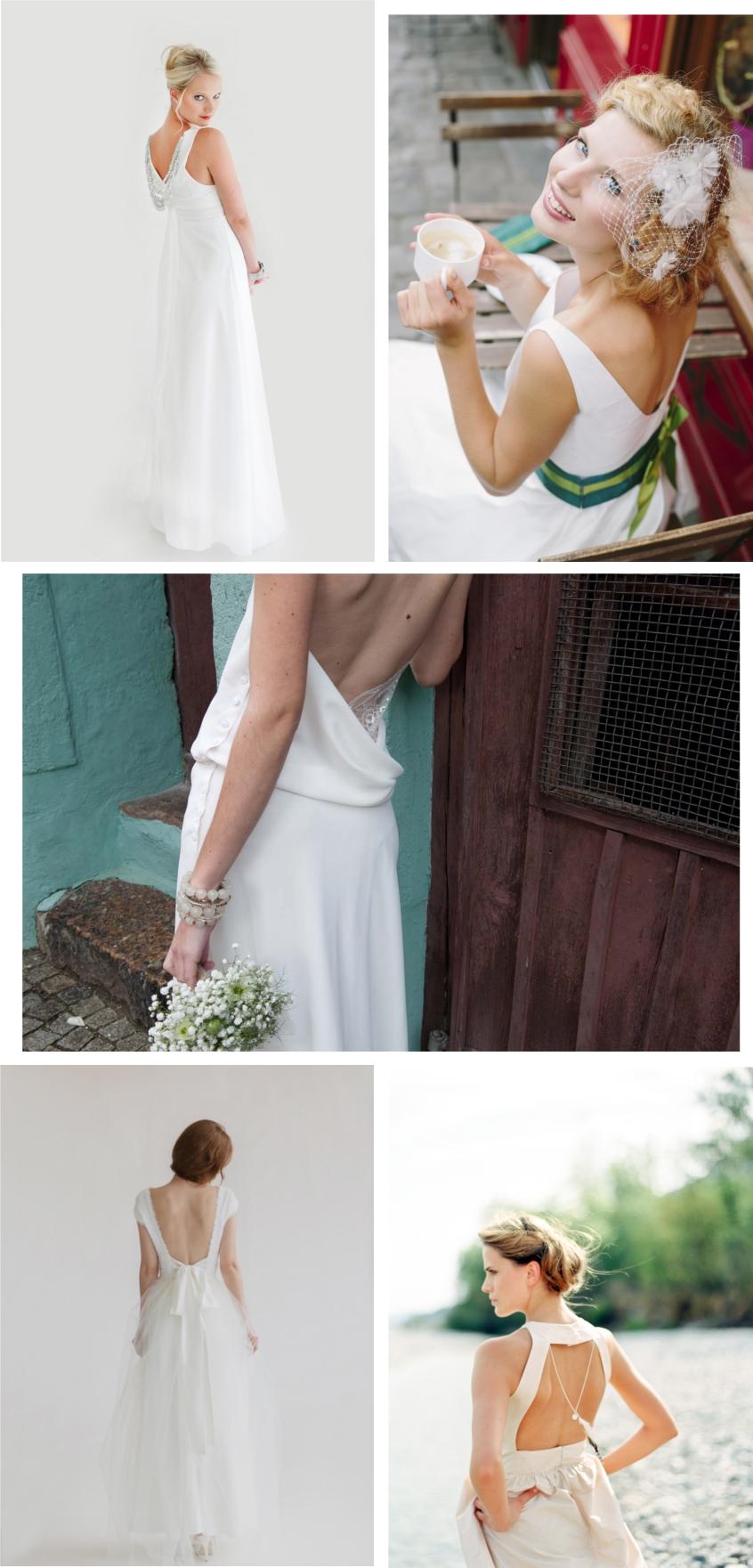 Brautmode-Trends 2014 - Teil 5: vorne hoch geschlossen hinten tief ausgeschnitten