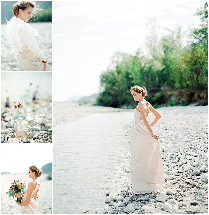 Verrückt nach Hochzeit präsentiert die white edition bridal collection 2014 von Elfenkleid. Fotos: peaches & mint