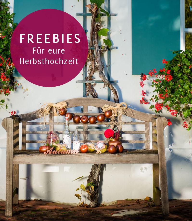 Freebie für eure Herbsthochzeit - Anhänger zum runterladen