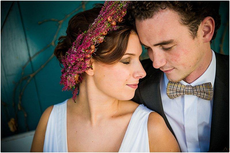 Inspiration für die Herbsthochzeit: das Brautstyling | Foto: Schelke Fotografie