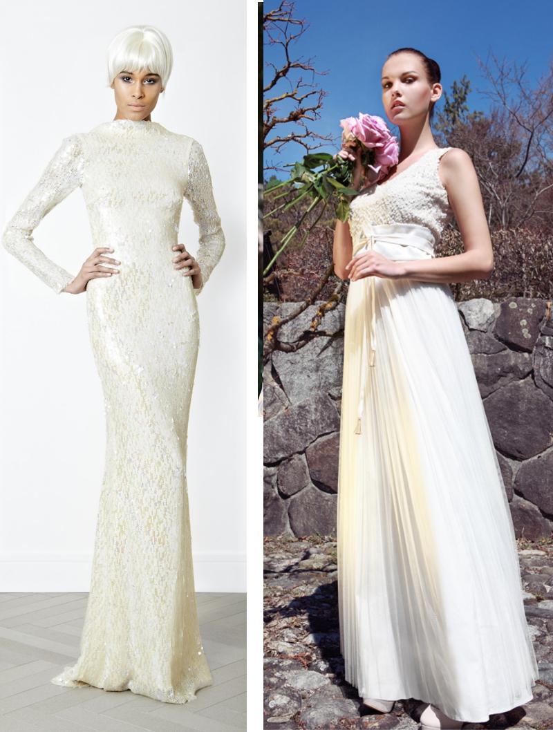 Brautmode-Trend 2014: Brautkleid mit Pailletten | Verrückt nach Hochzeit