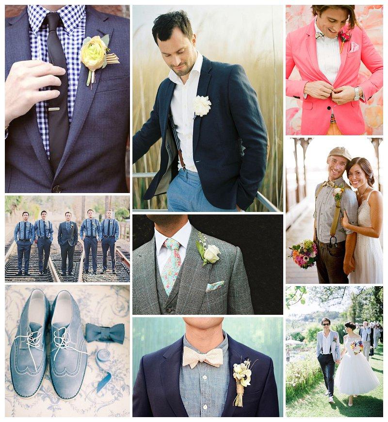 Hochzeits Trends 2014: gut gestylte Bräutigame // Verrueckt nach Hochzeit